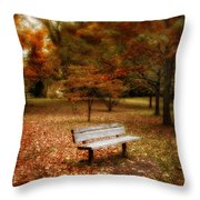 Autumn Splendors Throw Pillow