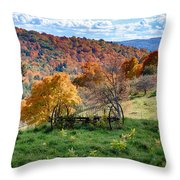 Autumn This Side Of Heaven Throw Pillow