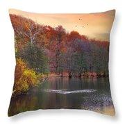 Autumn's Allure Throw Pillow