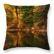Autumns Calm Throw Pillow