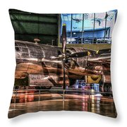 B-29 Bockscar Throw Pillow