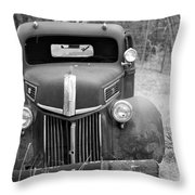 B/w136 Throw Pillow