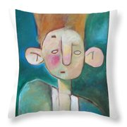 Bad Hair Life Throw Pillow