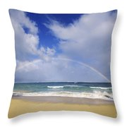 Baldwin Beach Throw Pillow