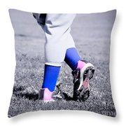Ball Player Throw Pillow