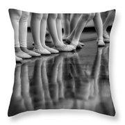 Ballet Class Throw Pillow