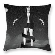 Balloons And Surrealism 2 Throw Pillow