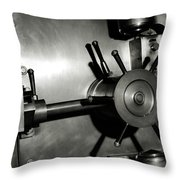 Bank Vault Throw Pillow