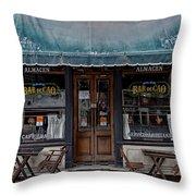 Bar De Cao Throw Pillow