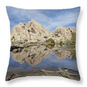 Barker Dam Throw Pillow