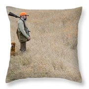 Barnes11 Throw Pillow