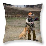 Barnes9 Throw Pillow