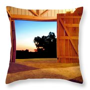 The Courseway Throw Pillow