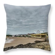 Barry Island Throw Pillow