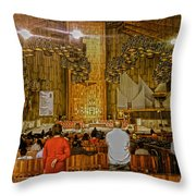 Basilica De Guadalupe 1 Throw Pillow