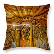 Basilica De Guadalupe 3 Throw Pillow