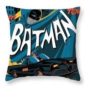 Batman Art Throw Pillow