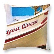 Bayou Queen Throw Pillow