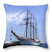 B.e. Juan Sebastian De Elcano Throw Pillow