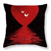 Be Mine Throw Pillow