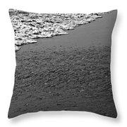 Beach Texture Throw Pillow