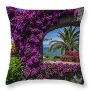 Beautiful Ischia Throw Pillow