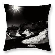 Beautiful Lake Powell Throw Pillow