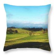 Beautiful Rural Bavaria Throw Pillow