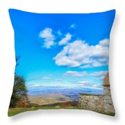 Beauty Found At The Arch Throw Pillow