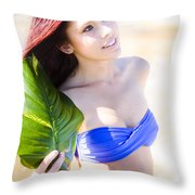 Beauty In Nature Throw Pillow by Jorgo Photography - Wall Art Gallery