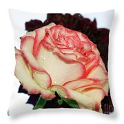 Beauty Rose Throw Pillow