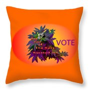 Bee Part Of The Buzz Throw Pillow