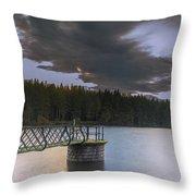 Beecraigs Loch Throw Pillow