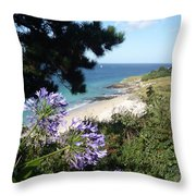 Bel-ile-en-mer Throw Pillow