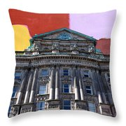 Belfast Architecture 3 Throw Pillow