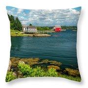 Bell Island Throw Pillow