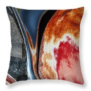 Belmont Truck Detail 1586 Throw Pillow