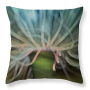 Beneath The Waves Throw Pillow by Jack Zulli