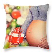 Best Present For Christmas Throw Pillow