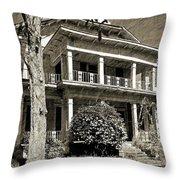 Bethea House Throw Pillow