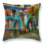 Bicycle Art 1 Throw Pillow