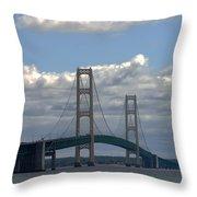 Big Bridge Throw Pillow