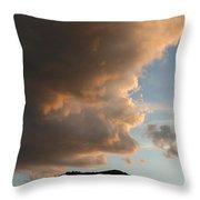 Big Cloud Throw Pillow