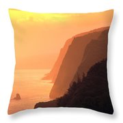 Big Island, View Throw Pillow