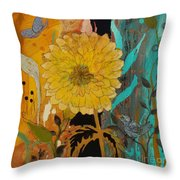 Big Yella Throw Pillow