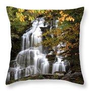 Bijoux Falls In Beautiful British Columbia Throw Pillow