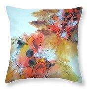 Birds Birds Birds Album Throw Pillow