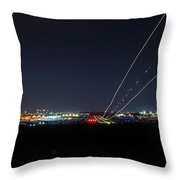 Birmingham Airport ,skyline Throw Pillow