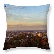 Birmingham Skyline Throw Pillow
