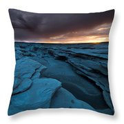 Bisti Fissure New Mexico Throw Pillow